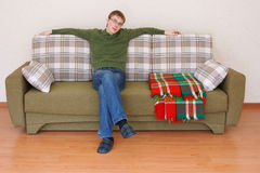 Portrait of the young man Stock Image