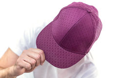 Portrait of young man in sport hat Royalty Free Stock Images