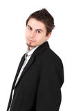 Portrait of young man, studio shot Royalty Free Stock Photography