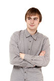 Portrait Young Men Royalty Free Stock Photography