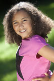 Portrait of Young Mixed Race African American Girl Royalty Free Stock Photography