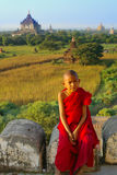 Portrait of young monk Stock Photography