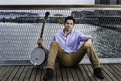 Portrait of Young Musician Royalty Free Stock Photo