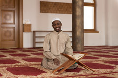 Portrait Of Young Muslim Man Smiling Stock Image