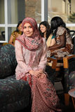 Portrait of Young Muslim Woman Royalty Free Stock Photos