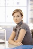 Portrait of young office worker Stock Photography