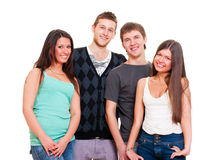 Portrait of young people Royalty Free Stock Image