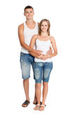 Portrait of young people Royalty Free Stock Images