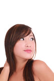 Portrait Young Perky Attractive Asian Stock Image