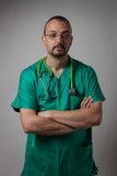 Portrait of a young physician Royalty Free Stock Photos