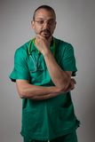 Portrait of a young physician Stock Photography