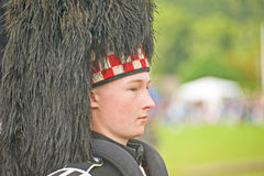 Portrait of a young Piper. Royalty Free Stock Images