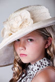 Portrait of a young pretty girl Royalty Free Stock Photography