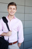 Portrait of a young professional man Royalty Free Stock Photos