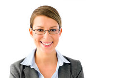 Portrait of a young proffessional woman Stock Photography