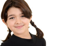 Portrait young romanian girl Royalty Free Stock Photography