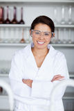 Portrait of a young scientist posing Stock Photo