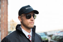 Portrait Of Young Security Guard Stock Photos