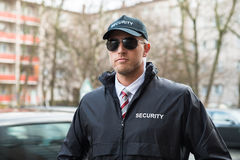 Portrait Of Young Security Guard Royalty Free Stock Photos