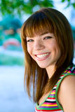 Portrait young smile girl Stock Photo
