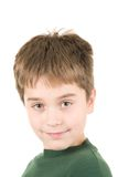 Portrait of young smiling boy Royalty Free Stock Photos