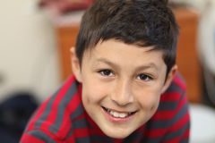 Portrait of young smiling boy Stock Images