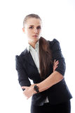 Portrait of young smiling businesswoman Royalty Free Stock Photo