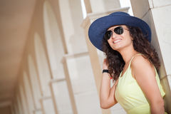 Portrait of a young smiling woman Stock Photography