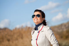 Portrait of a young smiling woman Royalty Free Stock Photo