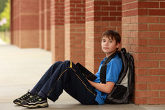 Portrait of a young student Royalty Free Stock Photo
