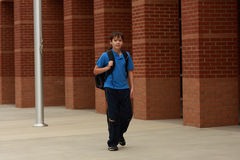 Portrait of a young student Stock Image
