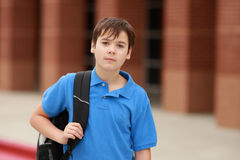 Portrait of a young student royalty free stock photography