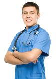 Portrait of a young surgeon Royalty Free Stock Photography