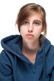 Portrait of young teen girl Royalty Free Stock Photo