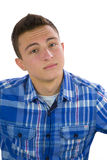 Portrait of young teenage boy Stock Images