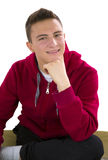Portrait of young teenage boy Royalty Free Stock Photo