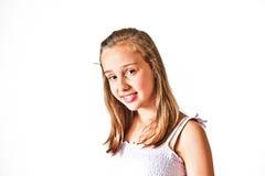 Portrait of   young teenage girl Stock Photography