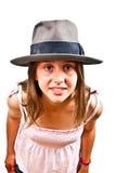 Portrait of   young teenage girl Stock Photo