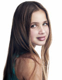 Portrait of young teenage girl. Royalty Free Stock Photography