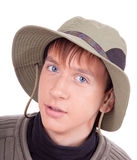 Portrait of a young tourist Stock Image