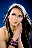 Portrait of a young woman Royalty Free Stock Photo