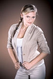 Portrait of a young woman Royalty Free Stock Image