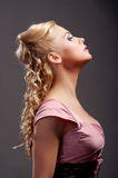 Portrait of young woman Royalty Free Stock Photos