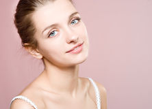 Portrait young woman stock image