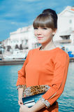 Portrait of young woman Royalty Free Stock Image