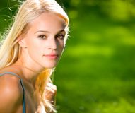 Portrait of young woman Stock Image