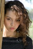 Portrait, young woman Royalty Free Stock Photos