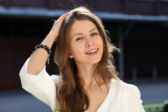 Portrait of young woman Royalty Free Stock Images