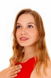Portrait of young woman. Royalty Free Stock Photo