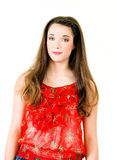 Portrait Young Woman full body Royalty Free Stock Photo